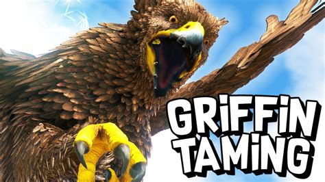 ARK Survival Evolved Ep #14 - TAMING A GRIFFIN! (Modded
