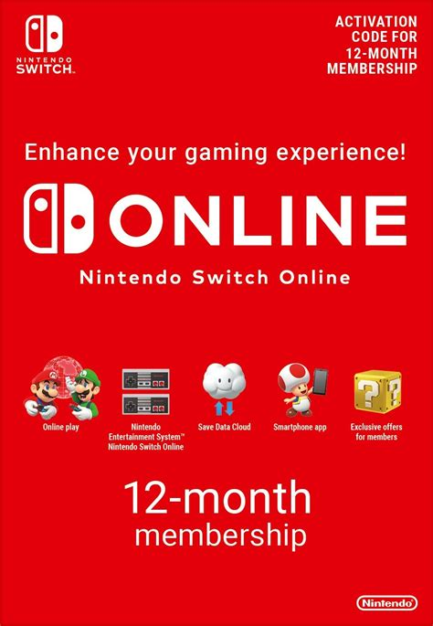 Nintendo Switch Online 12 months - Game – Startselect