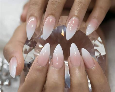 The Best 12 Ombre Nail Art - French fades, unicorn and