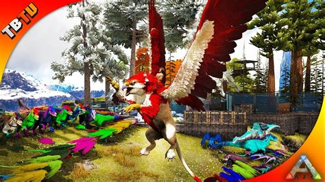 THE BEST GRIFFIN MUTATIONS EVER! PAINTING COMPETITON! Ark